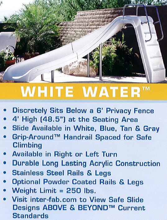 Pool & Spa Warehouse Green Bay, WI - Diving Board & Slides